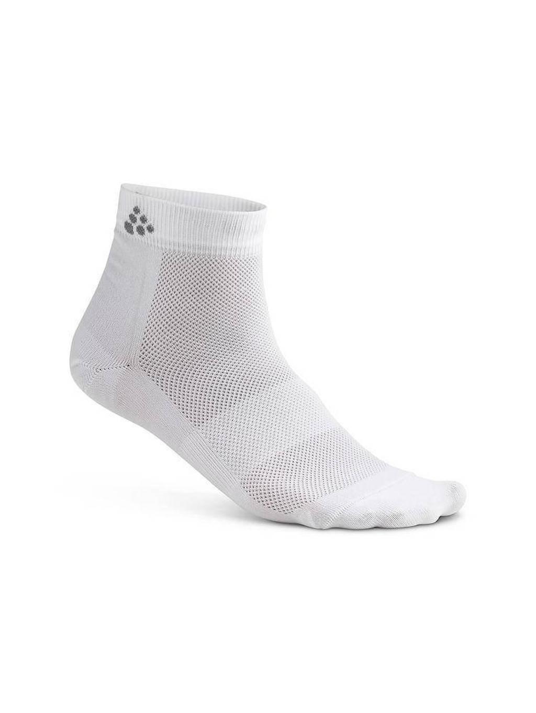 Craft   sport enkelsokken wit (set van 3), Wit