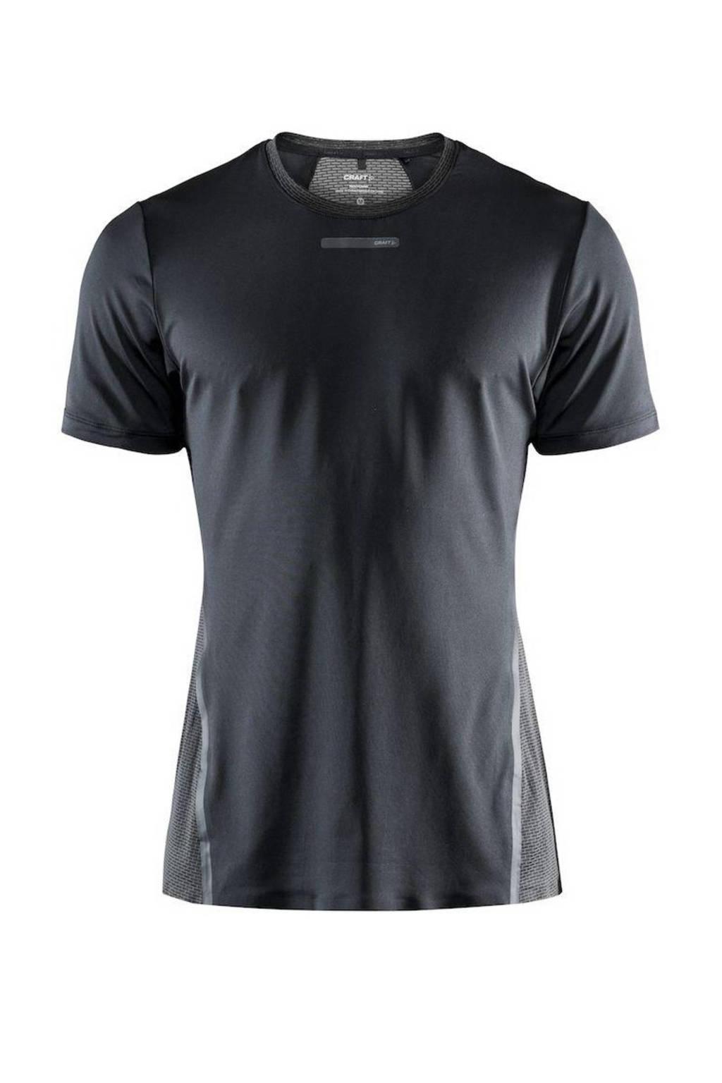 Craft   sport T-shirt antraciet, Antraciet