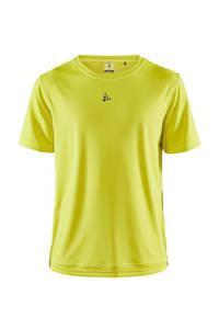 Craft   sport T-shirt geel, Geel