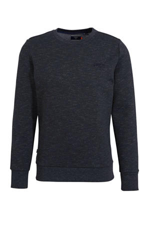 gemêleerde sweater antraciet