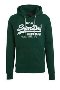 Superdry hoodie met printopdruk groen, Groen