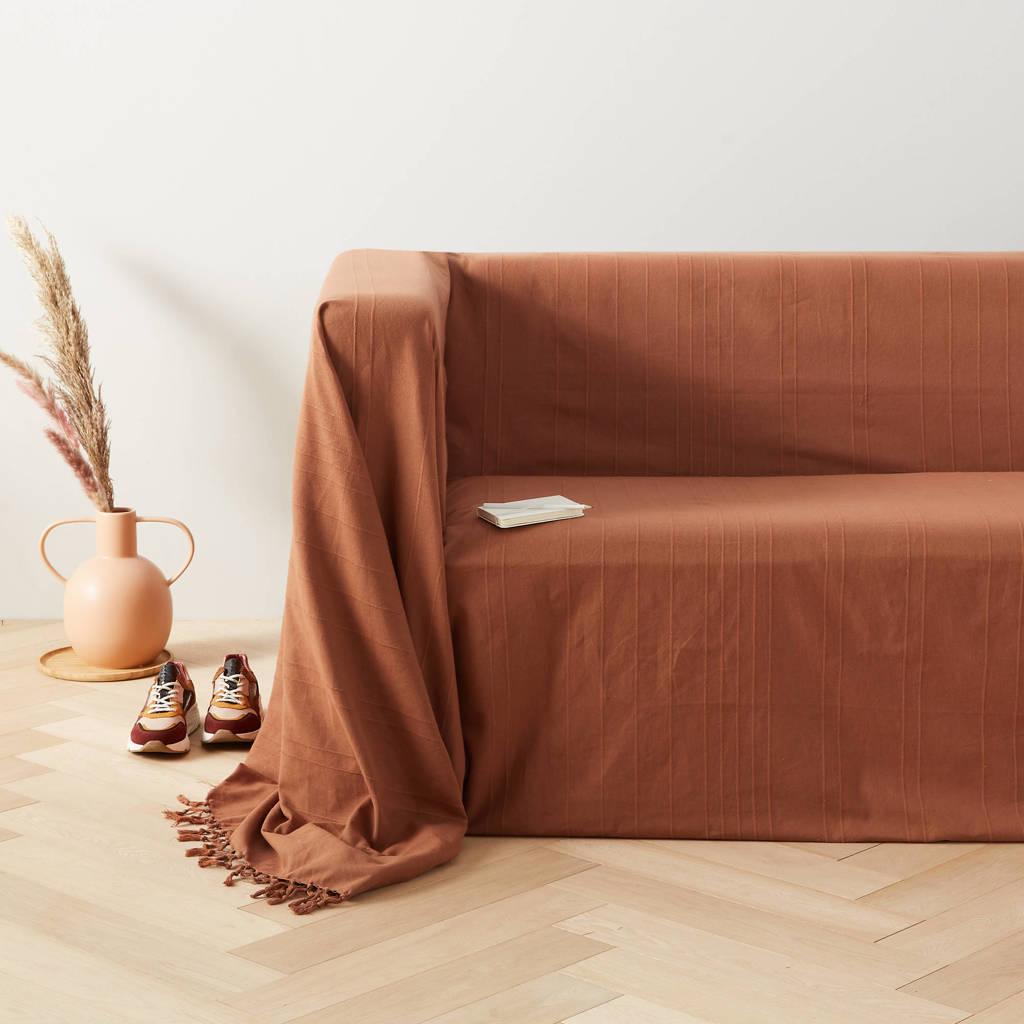 wehkamp home grand foulard Bonnie (350x275 cm), Terra