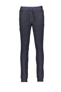 Bellaire slim fit broek Shinos donkerblauw/antraciet, Donkerblauw/antraciet