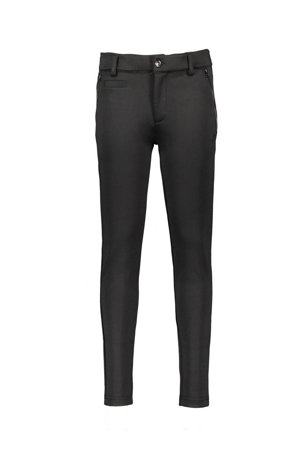Bellaire slim fit broek s-chino zwart, Zwart