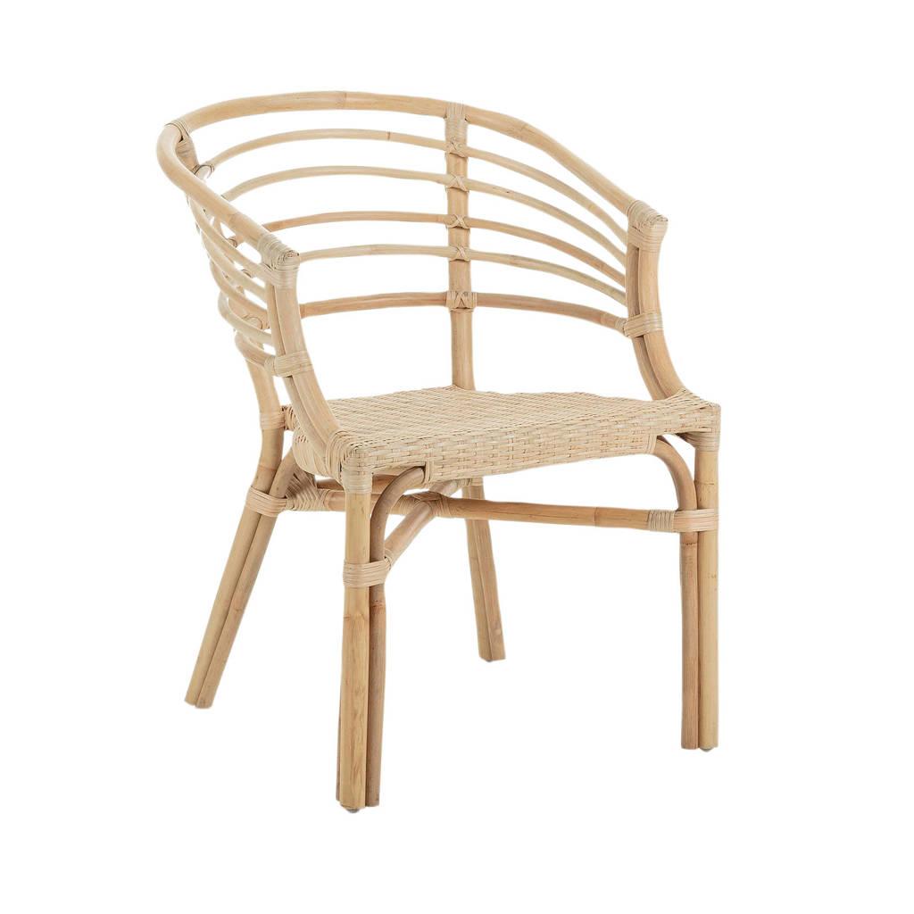 Kave Home fauteuil Dewi (set van 4), Naturel