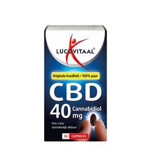 CBD Cannabidiol 40mg capsules