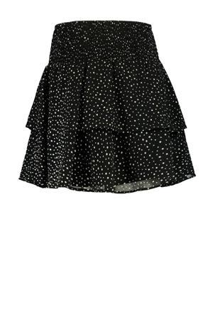 rok Rosalin met stippen zwart