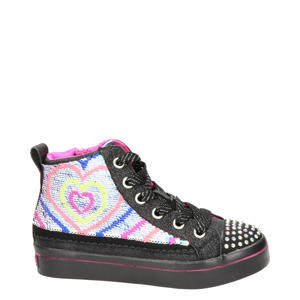 Flip Kicks  hoge sneakers zwart