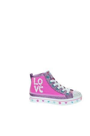 Flip Kicks  hoge sneakers roze