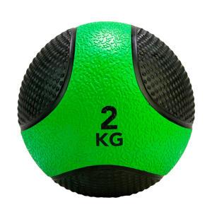 medicine ball 2 kg groen/zwart