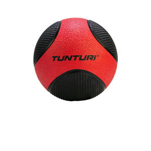 Medicine ball 3 kg rood/zwart