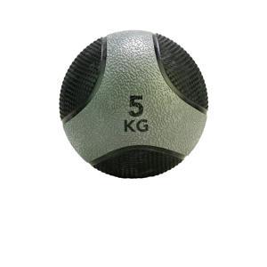 medicine ball 5 kg grijs/zwart