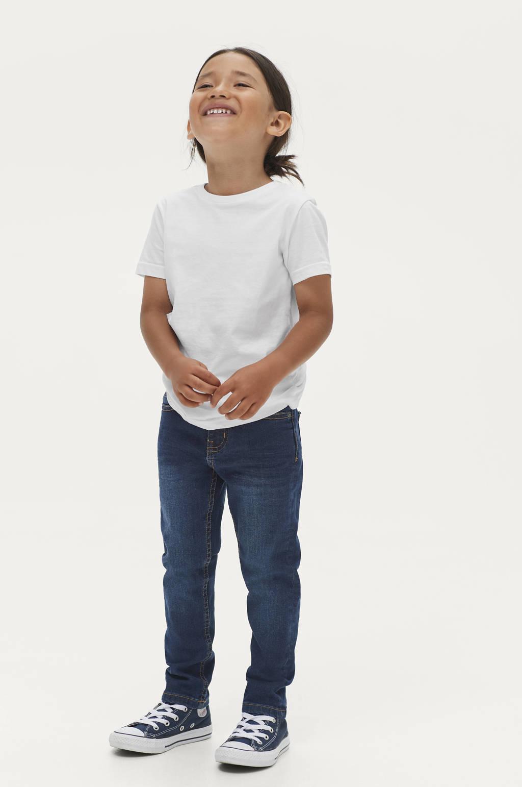 Ellos slim fit jeans Colton blauw, Blauw
