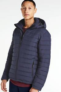 Superdry winterjas blauw, Donkerblauw