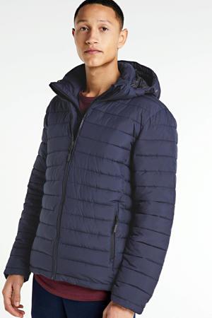 winterjas blauw