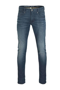 PME Legend slim fit jeans Freighter blue coated, Blue coated