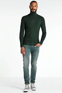 PME Legend slim fit broek Nightflight straight grijs, Grijs
