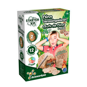 Starter kit Dino Eieren Science4You