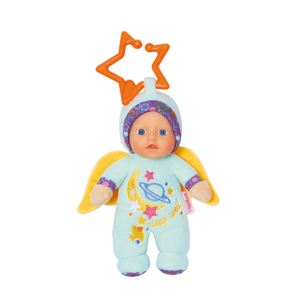 BABY born Pop Angel For Babies Baby Born 18 cm blauw