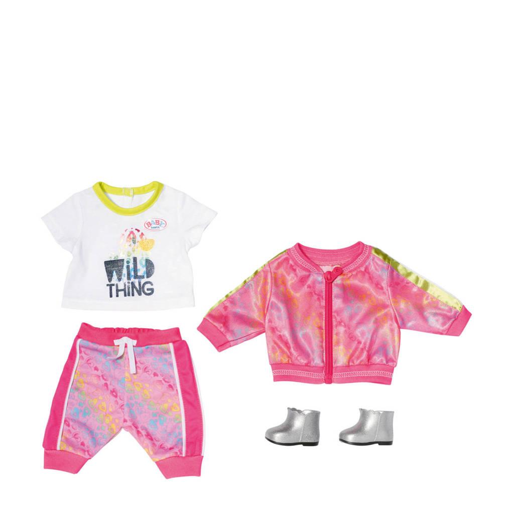BABY born  Trendy roze set Deluxe Baby Born