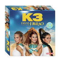Studio 100 K3 K3 Dans van de Farao bordspel