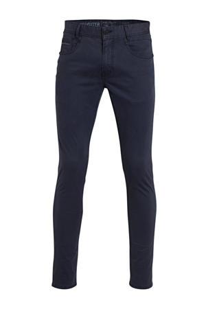 slim fit broek Freighter donkerblauw