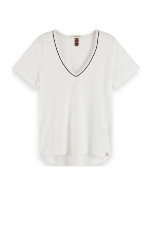 T-shirt gebroken wit