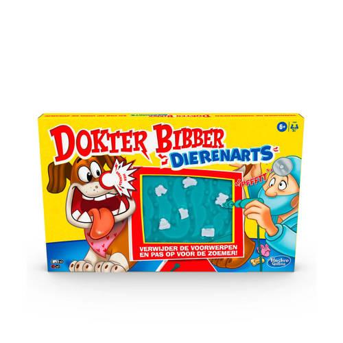 Wehkamp-Hasbro Gaming Dokter Bibber Dierenarts bordspel-aanbieding