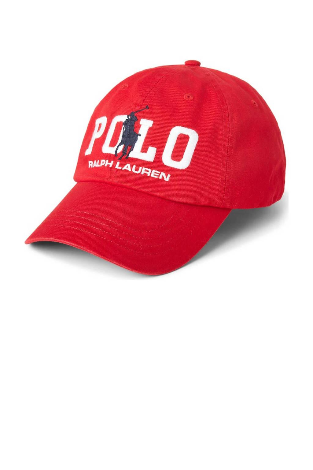 Ralph Lauren pet CLS SPRT CAP rood, Rood