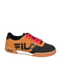 Fila Center  sneakers cognac/zwart, Zwart/cognac