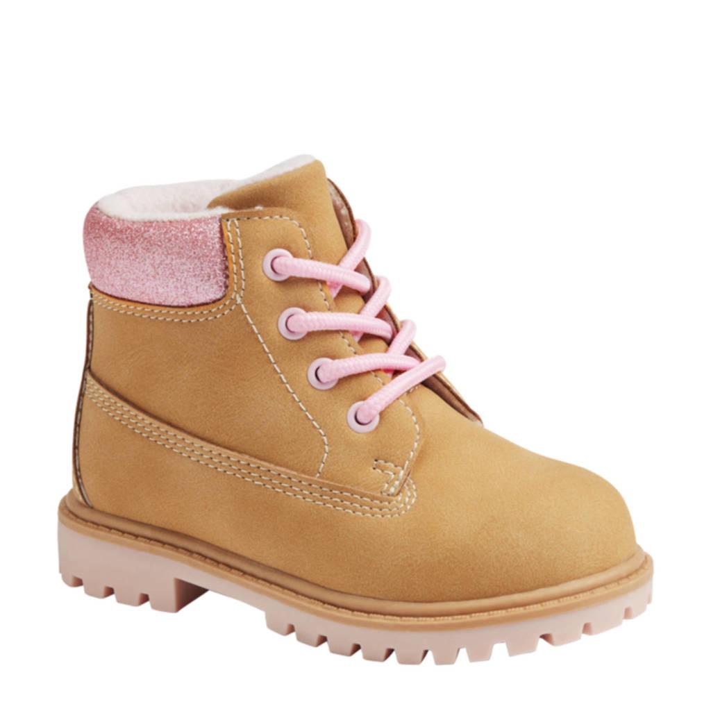 Cupcake Couture   veterboots geel/roze, Geel/roze