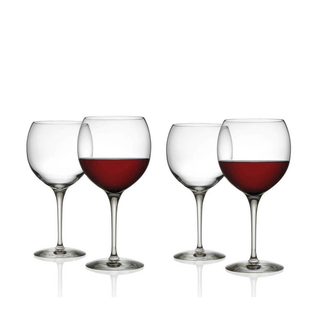 Alessi wijnglas Mami (set van 4), Transparant
