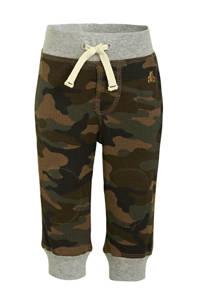 GAP baby broek met camouflageprint groen, Groen
