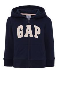 GAP vest met logo donkerblauw, Donkerblauw