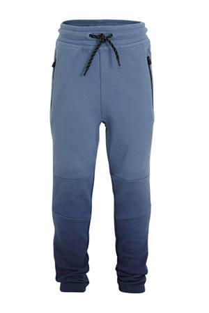 tie-dyeregular fit broek blauw