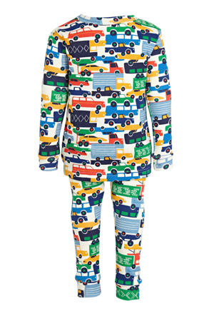 pyjama Transport blauw/multicolor
