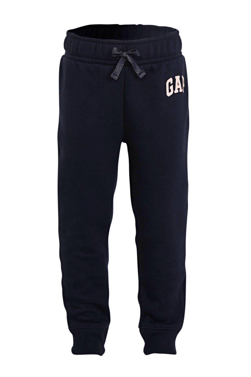 GAP baby broek met logo donkerblauw, Donkerblauw
