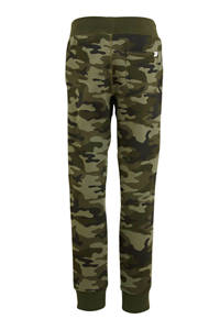 GAP regular fit broek met camouflageprint groen, Groen