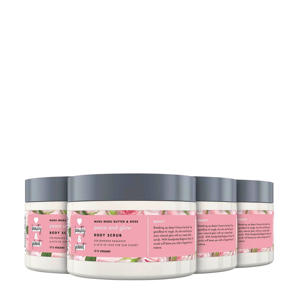 Muru Muru Butter & Rose Peace and Glow bodyscrub - 4 x 250 ml