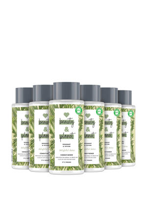 Rosemary & Vetiver Delightful Detox conditioner- 6 x 400 ml