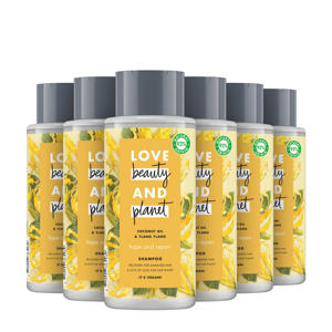 Coconut Oil & Ylang Ylang Hope and Repair shampoo - 6 x 400 ml