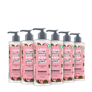 Muru Muru Butter & Rose Delicious Glow bodylotion - 6 x 400 ml