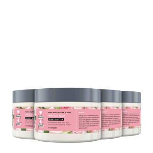 Muru Muru Butter & Rose Delicious Glow bodycrème - 4 x 250 ml