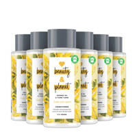 Love Beauty and Planet Coconut Oil & Ylang Ylang Hope and Repair conditioner- 6 x 400 ml