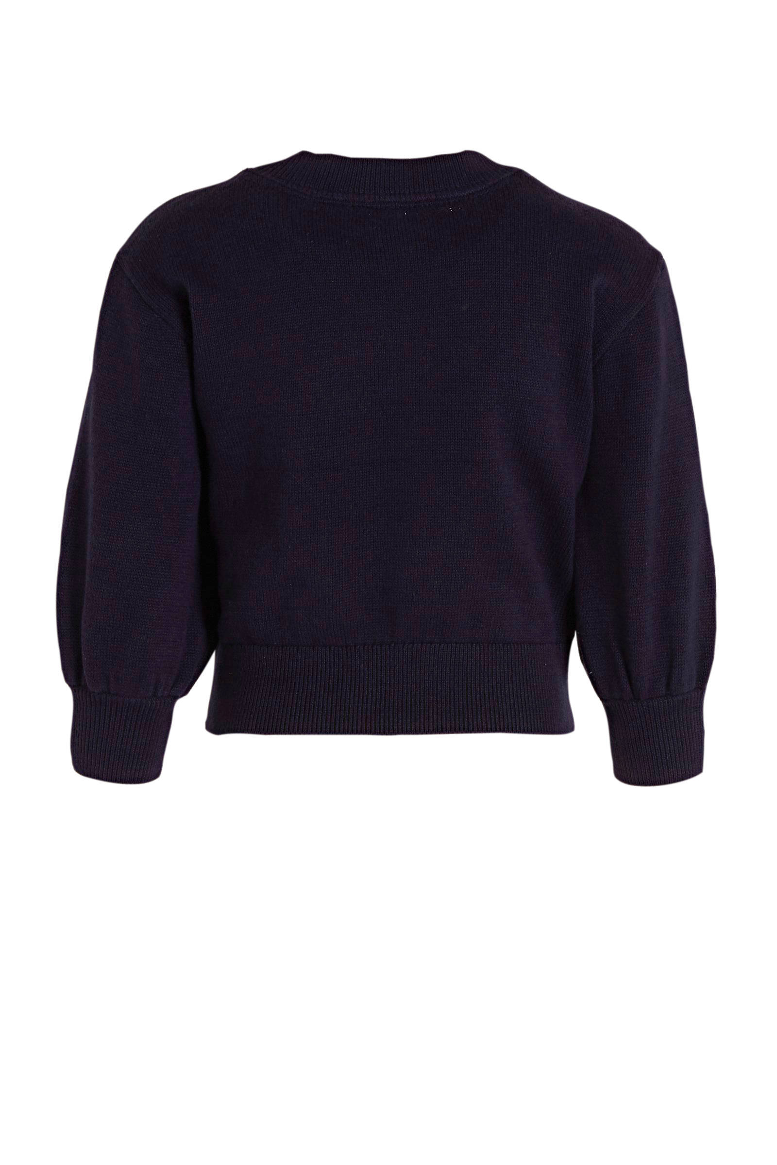 GAP trui met hartjes zwartroze | wehkamp