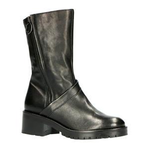 59207  leren laarzen zwart