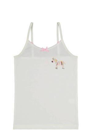 hemd - set van 2 zebra roze/wit