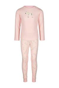 HEMA pyjama zebra print roze, Roze