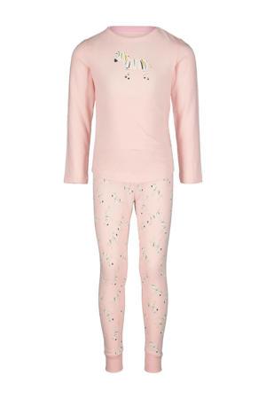pyjama zebra print roze