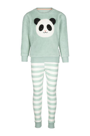 pyjama fleece mintgroen